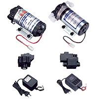 Booster Pump & Transformers & LP / HP Switch