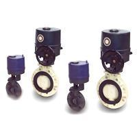 Butterfly Valve - Electric Actuated Type